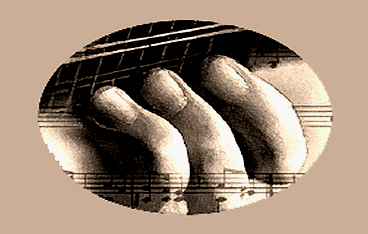 Photo of fingers on a mandolin